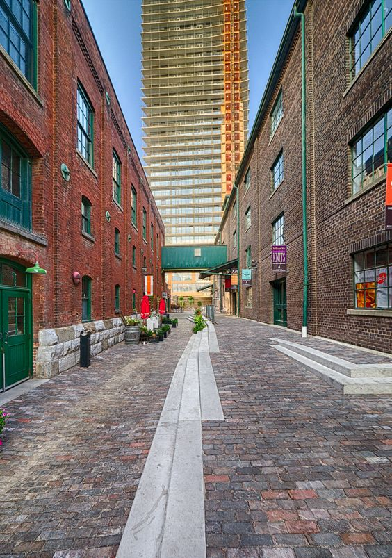 Towered Alley