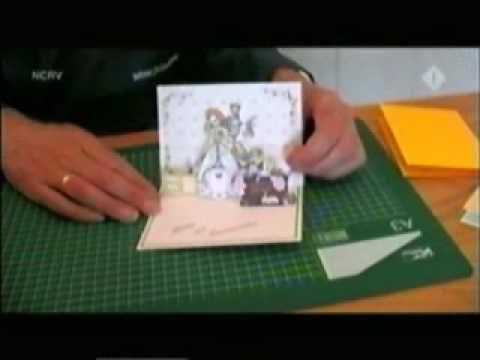 Knutselidee pop-up kaarten knutselen