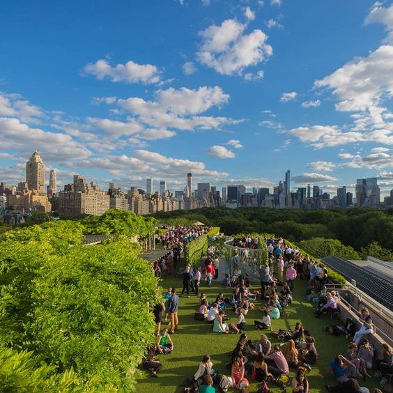 The Metropolitan Museum Of Art Roof Garden Caf I Ny