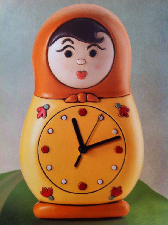 Matrioska clock!