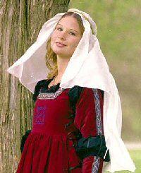 Silk Veil: Renaissance Costumes, Medieval Clothing, Madrigal Costume: The Tudor Shoppe