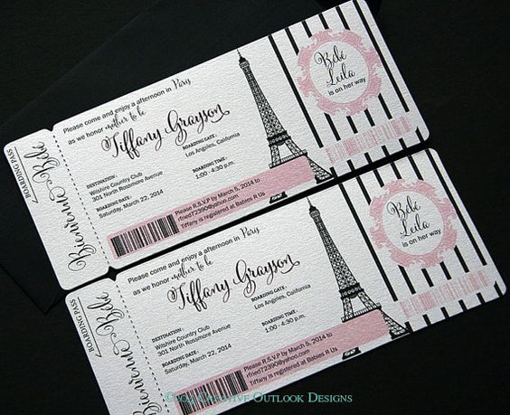 Custom Order For Nicole Poulton Boarding Pass Save The
