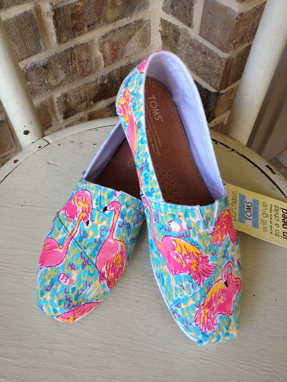 Lilly Pulitzer Peel and Eat TOMS