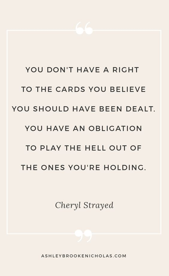 Need a little bit of motivation? Blogger Ashley Brooke Nicholas is sharing 10 Cheryl Strayed quotes that will change your life.