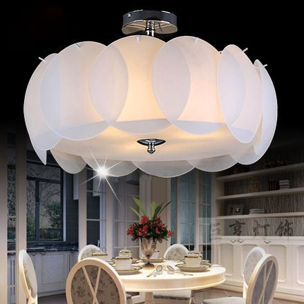 New Ceiling Lights Lamps Bedroom Den Living Room Glass Lighting Wireless Light Football
