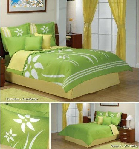 Yellow And Green Kids Room Ideas: Bedroom Sets, Yellow Bedding And Lime Green Bedrooms On