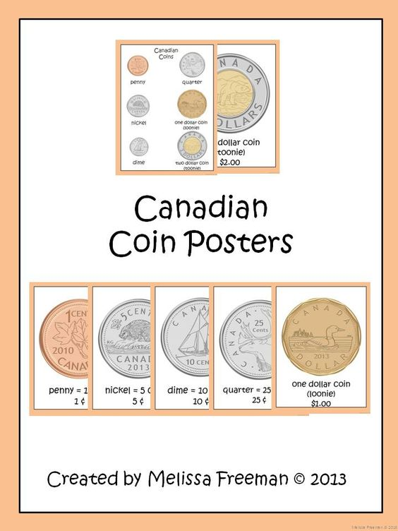 canadian coin posters poster classroom and coins. Black Bedroom Furniture Sets. Home Design Ideas