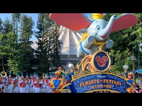 Hong kong disneyland parade 2019 Flight of Fantasy 香港迪士尼巡遊 ...