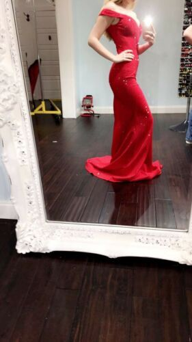 red prom dress Size 00 | Engagement