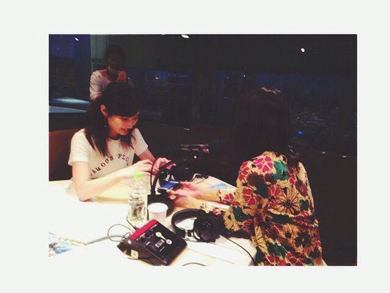 j-wave81.3FM(日) 「UR LIFESTYLE COLLEGE」今日のゲストは武田梨奈さん❤︎ 女子トークで盛り上がりました。ちゃっかり連絡先交換。