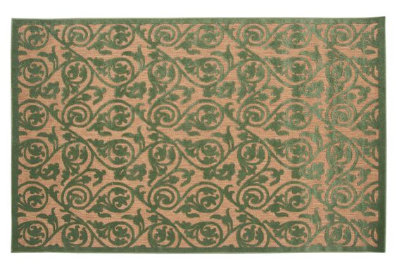 Jay Outdoor Rug, Green on OKL today