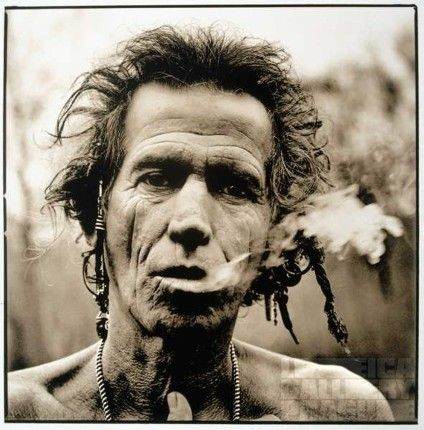 Keith Richards :: the perfect subject for Corbijn's gritty style