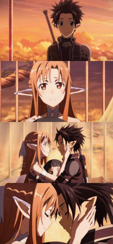 Kirito and Asuna are a true example of what true love should be. #SAO #ALO #TrueLove