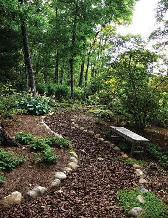 Landscape Design Tip Wild and woodland gardens may