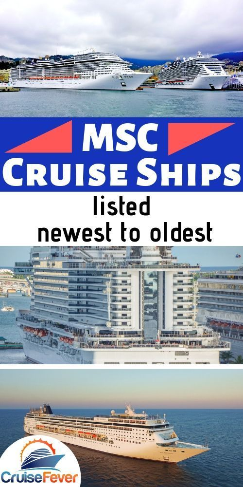 List Of Msc Cruise Ships Newest To Oldest Cruise Ship