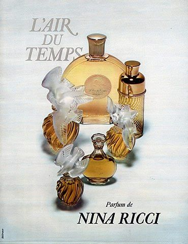 Nina Ricci Parfums - L'Air du Temps - 1971
