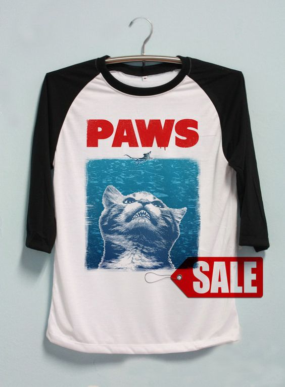 Hey, I found this really awesome Etsy listing at https://www.etsy.com/listing/220824021/paws-shirt-cat-shirt-tshirt-long-sleeve