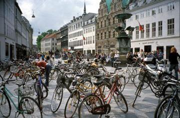 Copenhagen bicycles: