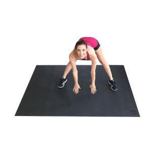 Square36 Large Exercise Mat - Workout Mat, Mats