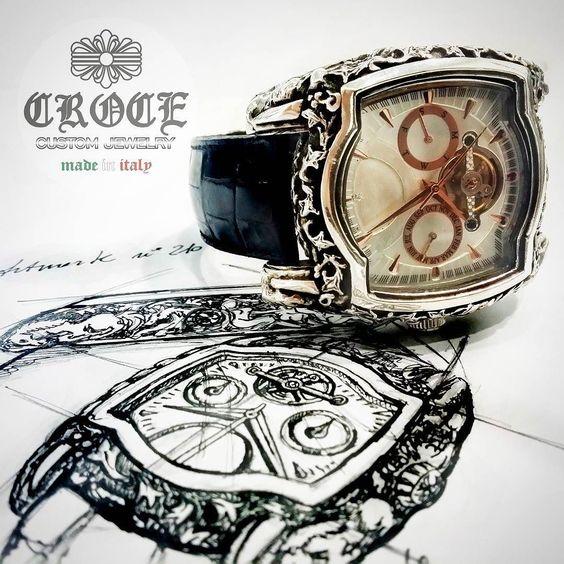 #croce #custom #jewelry #luxury #silver #sterling #star #celebrity #hipster #dandy #shamballa #tourbillon #watch #rare #instagood #me #handmade #fuck #fuckyou #gothic #nude #woman #cross by crocecustomjewelry