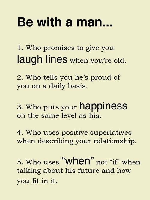Qualities Of A Good Man In A Relationship