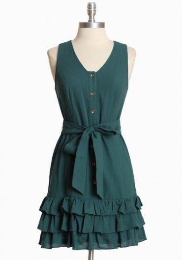 Great Garland Ruffle Dress
