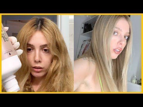Wie Man Baby Blond Haarfarbe Zu Hause Macht Haarfarbung Zu Hause