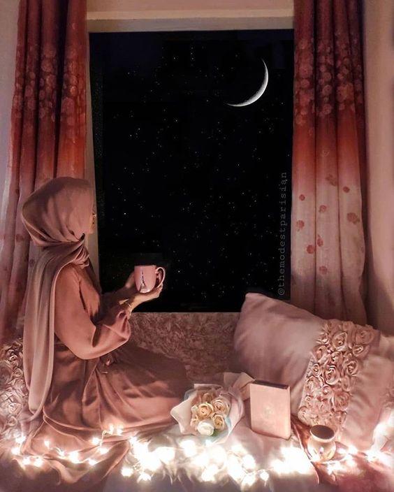 Hijab on the night