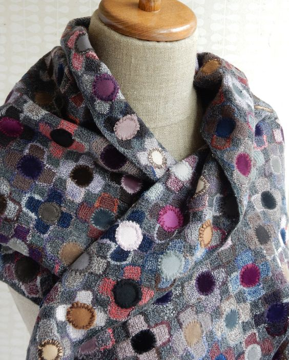 Ludivine scarf - Sophie Digard crochet: