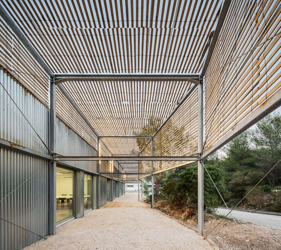 pan extends marseille's school of architecture in southern france