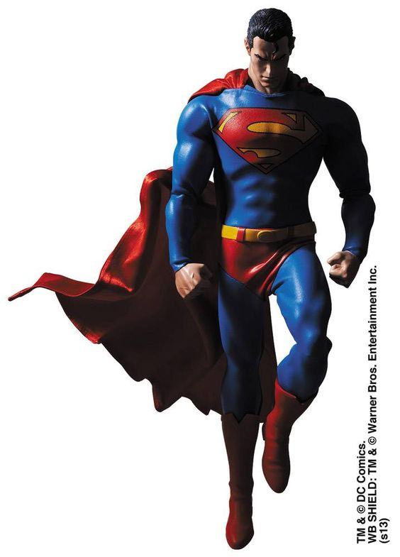 Batman Hush Superman 1/6 RAH Action Figure - The Movie Store