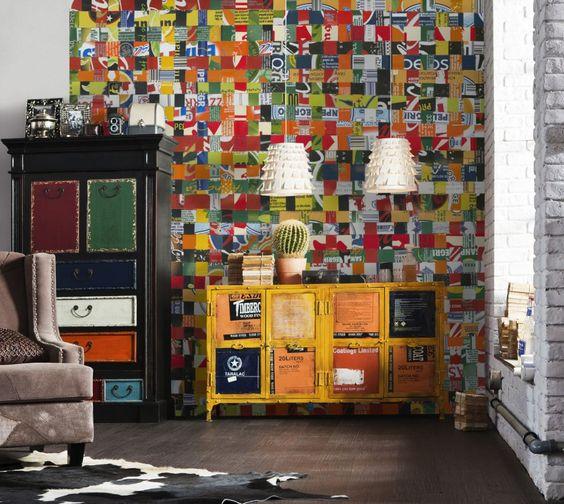 http://www.fototapete.de/index.php/bibite.html  Frech und unkonventionell – Dieser Entwurf bringt Farbe an die Wand