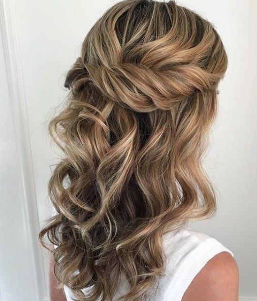32 Half Up Half Down Updos For Any Special Occasion Hair Styles Half Up Hair Wedding Hair Inspiration