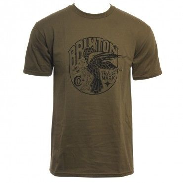 Brixton Clothing Mens Shirt Talon Olive