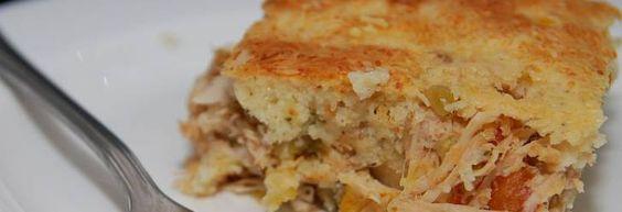 Copie a Receita de Torta de frango de liquidificador deliciosa e fácil - Receitas Supreme