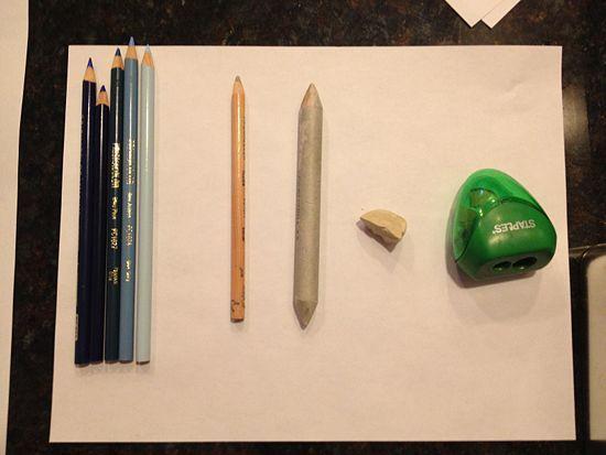 Blend With Prismacolor Pencils Colors Paper And Prismacolor