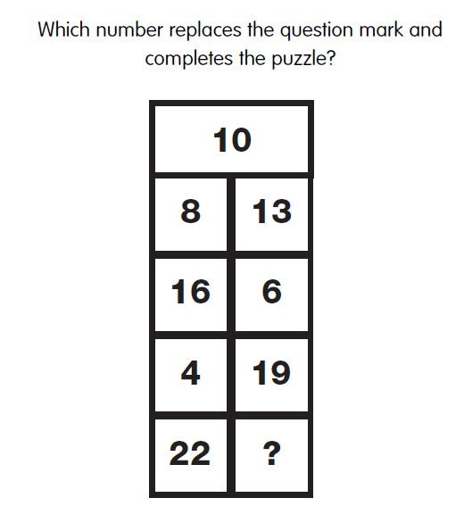 Iq Test Question   Which Letter Replaces The Question Mark In