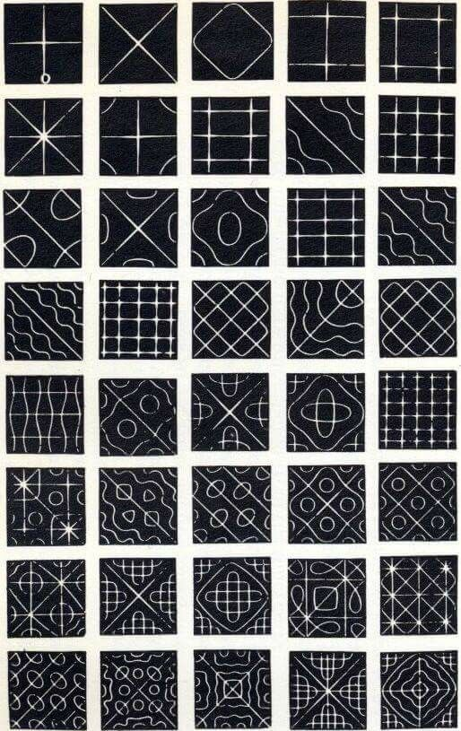 Cymatic Patterns Based On Different Frequencies The Higher The