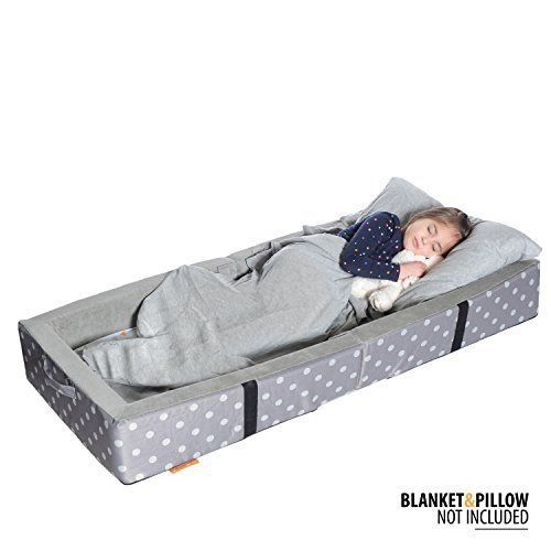 Milliard Portable Toddler Bumper Bed Folds For Travel You Can