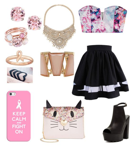 """06-10-15"" by choco-cat-girl on Polyvore featuring moda, Casetify, L. Erickson, Asilio, Ted Baker, Bucco, Bebe, M&Co e Betsey Johnson"