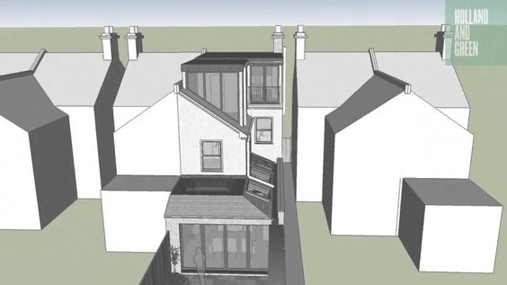 Modern Loft Dormer and Side Extension to Victorian property, via YouTube.