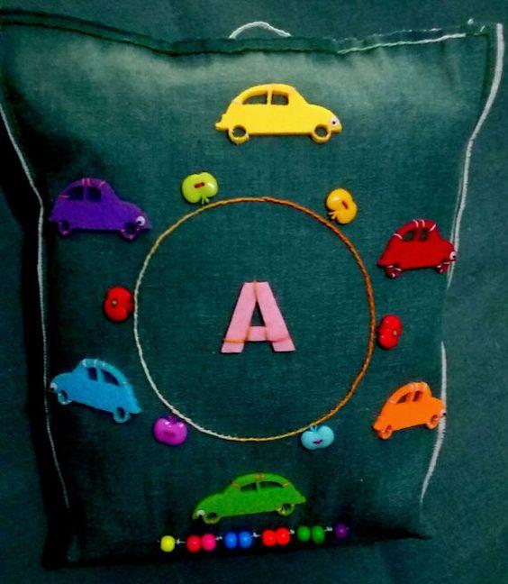 Los niños del bebé almohada cojín almohada coches vivero decoración niños…