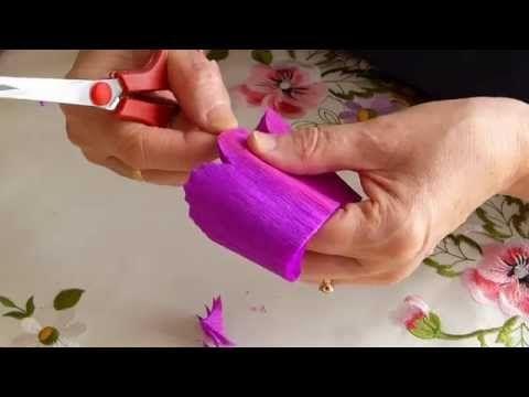 Kwiat Do Palmy Ii Instruktaz Youtube Flamingo Craft Craft Kits For Kids Toilet Paper Flowers