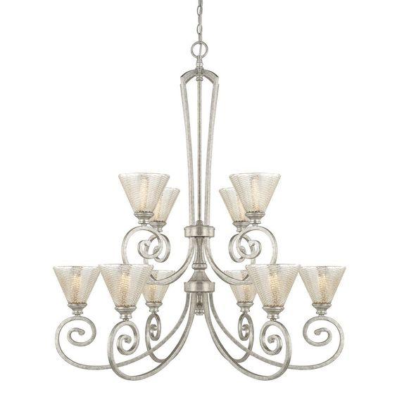 Capital Lighting Corrigan Collection 10-light Antique Chandelier