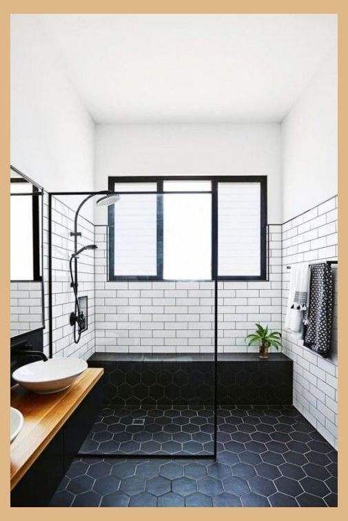 27 Modern Subway Tiles Ideas For Bathrooms Modern Bathroom Tile Ideas Bathroom Renovation Bathroom Renovations Small Bathroom Renovations Bathrooms Remodel