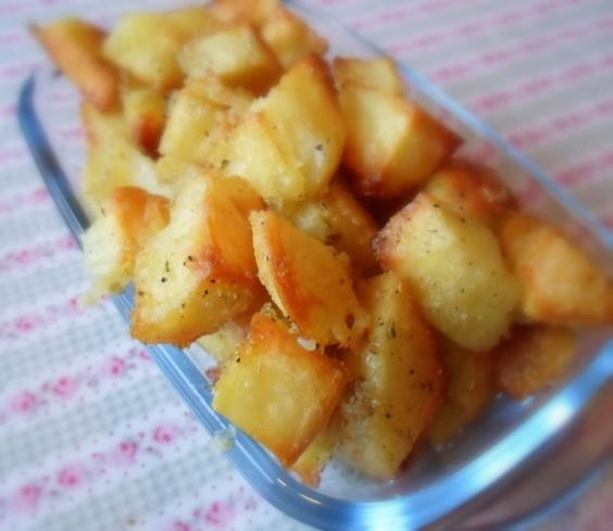 Crunchy Potatoes with Herby Saltfrom The English Kitchen