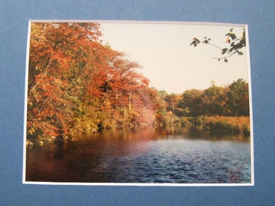 Photograph Landscape Fall Colors Along The Lake by ALBERTSCRAFTS, $20.00