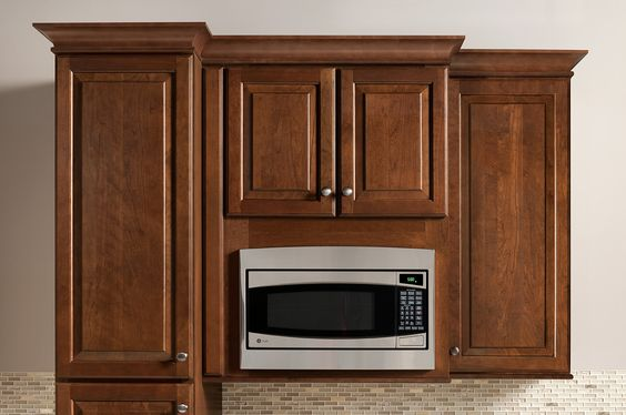 Countertop Microwave Cabinet : microwave cabinet and more microwave cabinet appliances countertops ...