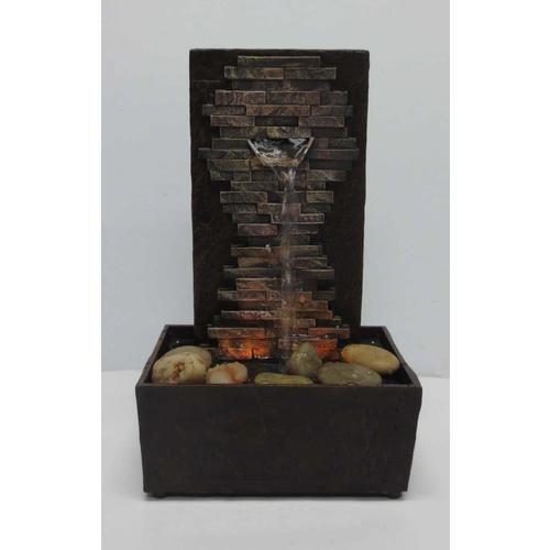 Shop 10 0394 In Plastic Tabletop Indoor Fountain In The Indoor