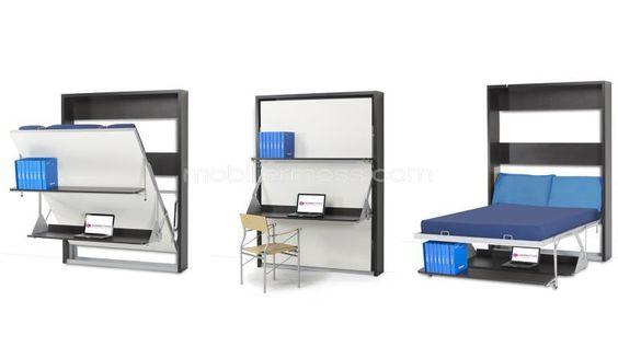 Lit 90x200 avec lit tiroir rangements et sommiers rocci design armoires - Lit superpose avec armoire ...